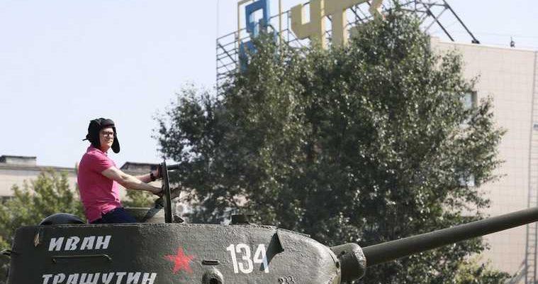 автопробег ретроавтомобиль танк Алексей Текслер Челябинск