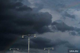 ураган в Челябинской области