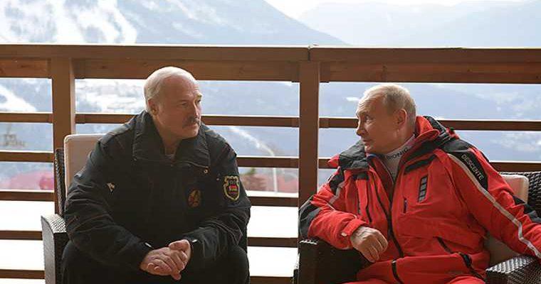Лукашенко рассказал об отношениях с Путиным