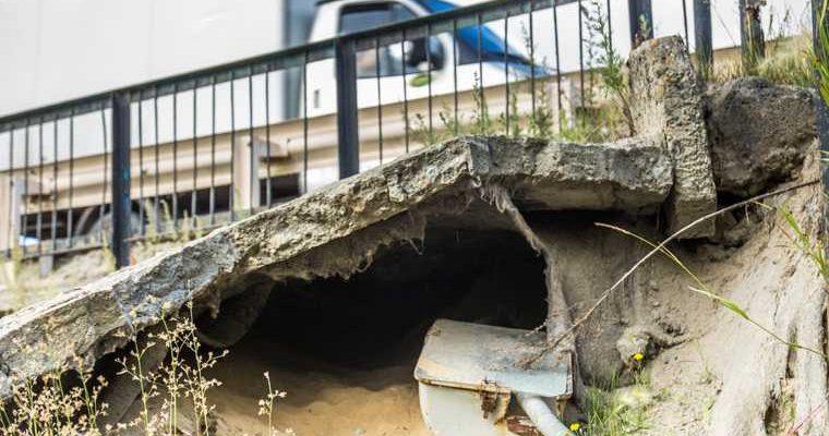 поселок Белый Яр аварийное состояние проезд скорая помощь