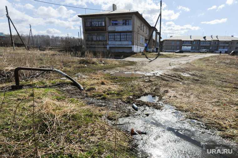 жидкие бытовые отходы село Ратта Красноселькупский район ЯНАО