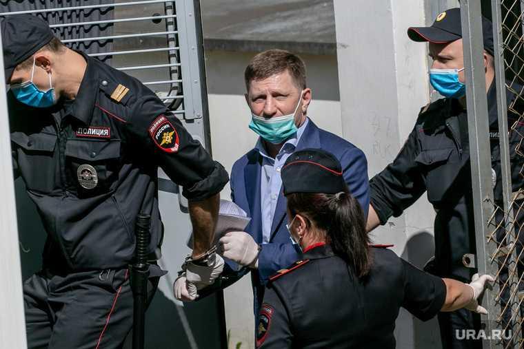 Фургал убийство конкурента прекращение дела Хабаровск
