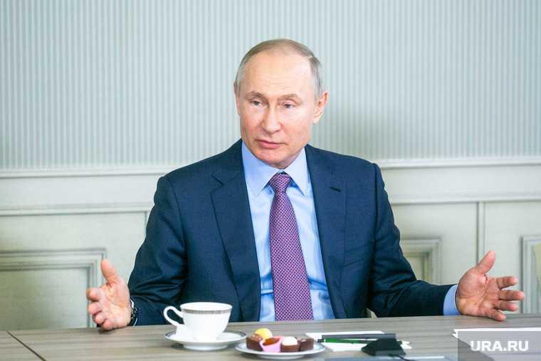 заседание госсовета Путин