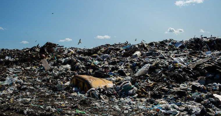свалка полигон мусор Екатеринбург