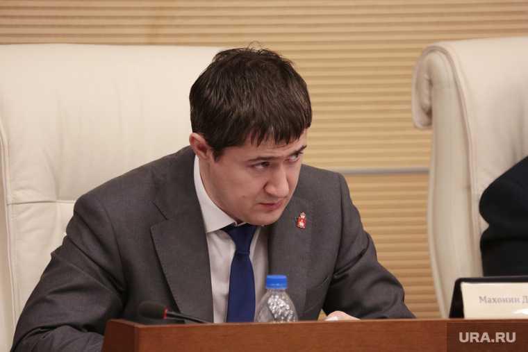 Махонин впервые обратится к депутатам