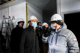 Челябинск Текслер ковидный госпиталь