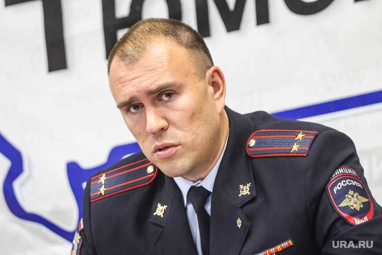 Новый начальник полиции города Петр Вагин. Тюмень