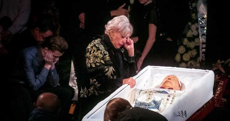 пенсия вдовы Караченцова