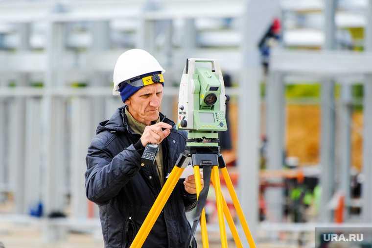 Алексей Текслер на строительстве областной инфекционной больницы. Челябинск
