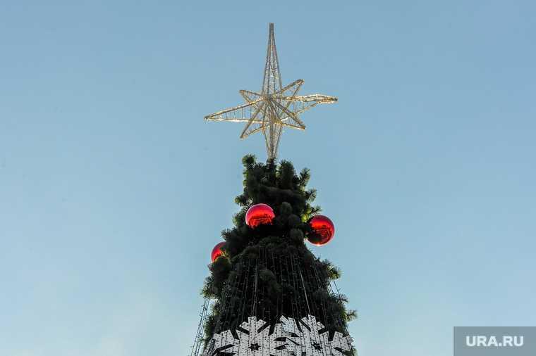 Челябинск подарки для детей Новый год Елка желаний