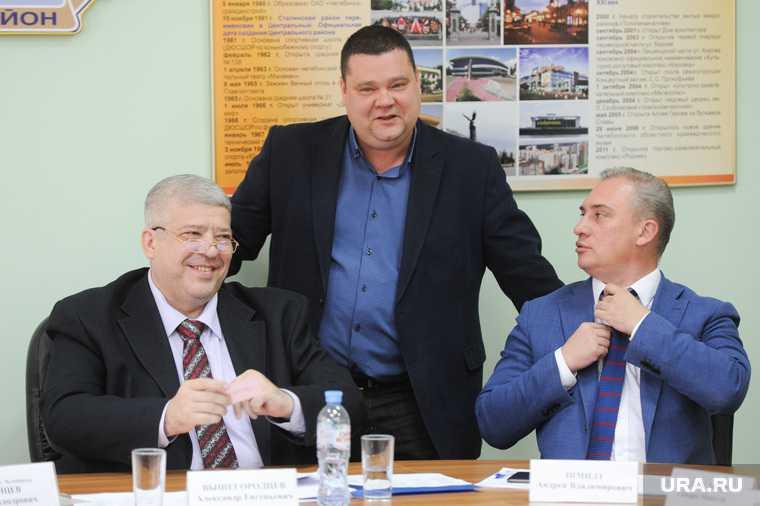 Челябинск гордума Дмитрий Тарасов правительство замминистра минздрав замена