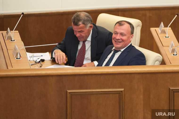 Двадцать второе заседание Законодательного собрания Свердловской области. Екатеринбург