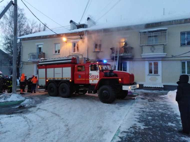 В Екатеринбурге при пожаре пострадали четверо детей. Фото