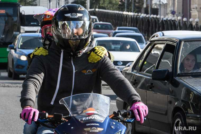 мотоциклисты правила движения