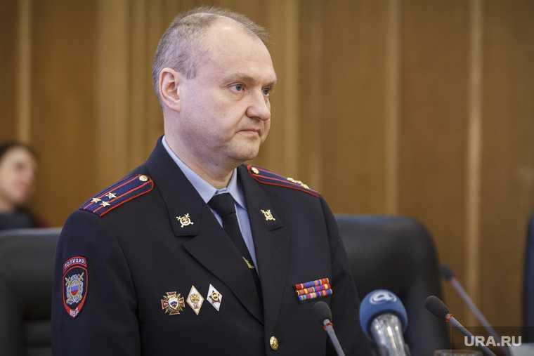 Екатеринбург генерал Трифонов взятка МВД