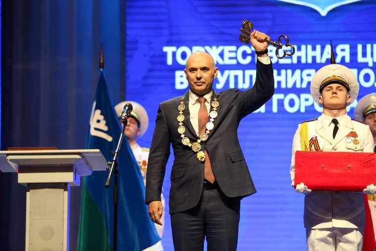 Инаугурация глава Сургута Филатов