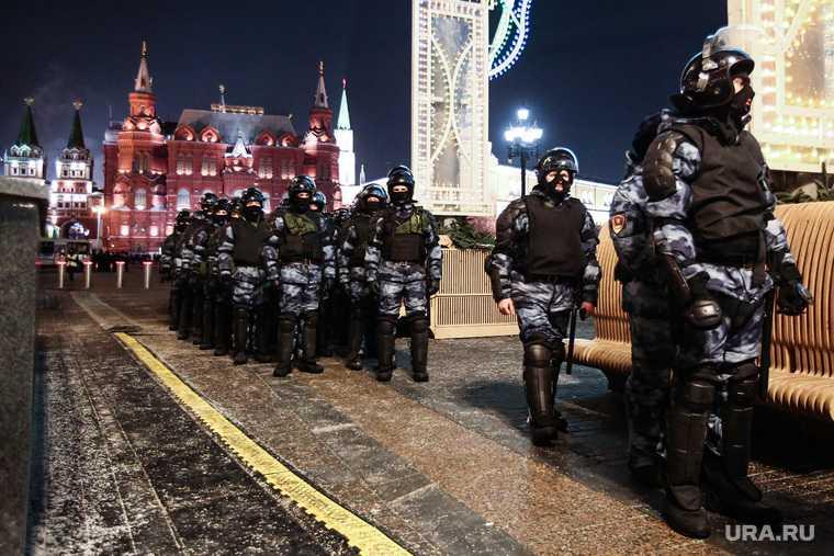 акции протеста в москве