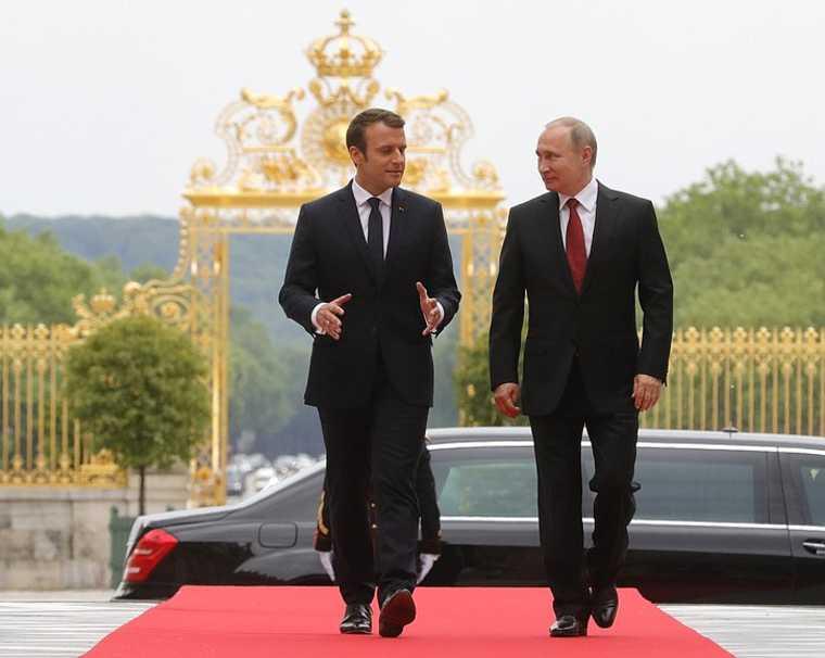 франция макрон красные линии россия