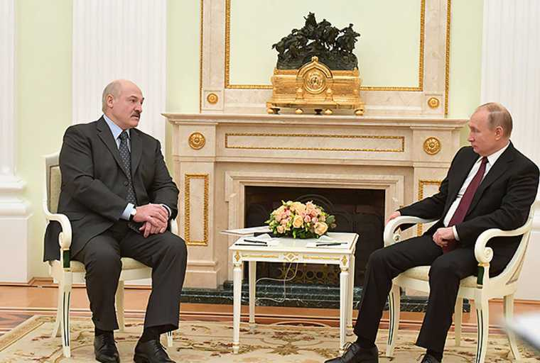 Владимир Путин Белоруссия госпереворот Александр Лукашенко