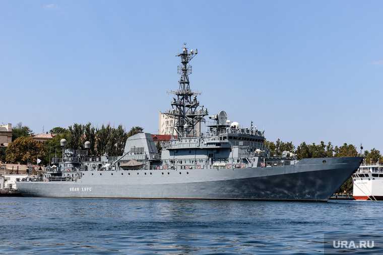 учения в российского флота в Черном море