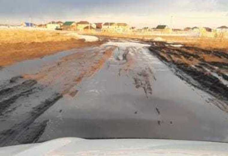 Скорая не доехала до курганцев из-за перекрытой дороги. Фото