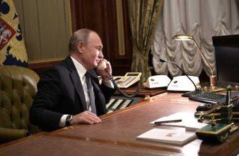 Путин разговор с Саули Ниинисте