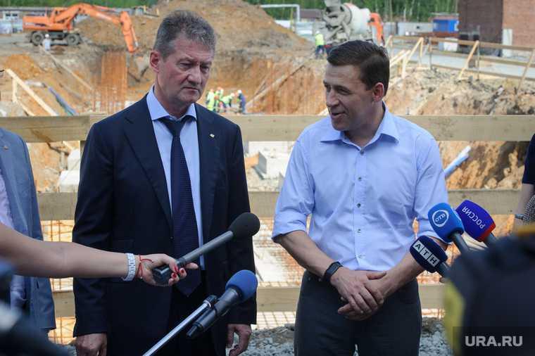 Рабочая поездка врио губернатора Свердловской области Евгения Куйвашева в Красноуральск