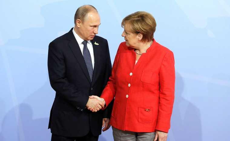 россия германия отношения северный поток