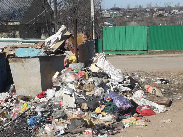 Пермяки задыхаются от мусора возле домов. Фото