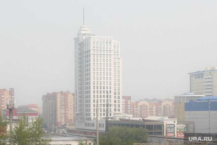 Лесные пожары смог Тюмень Роспотребнадзор
