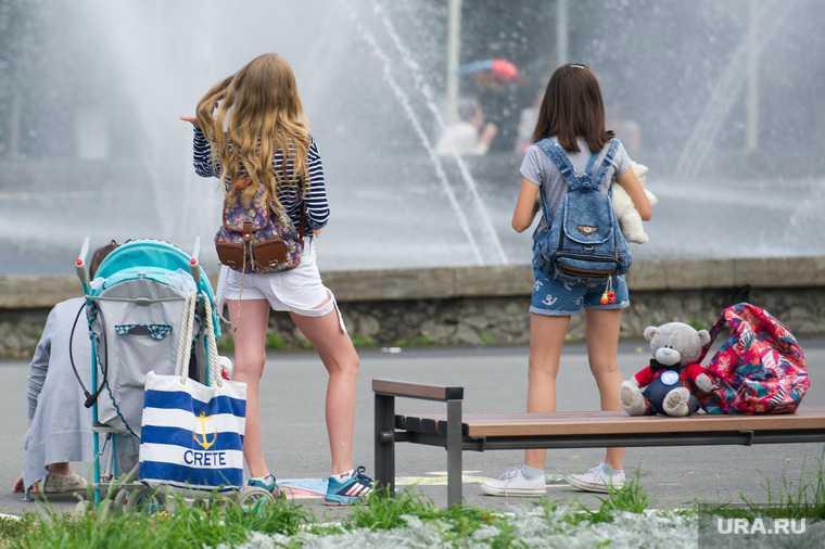 Челябинская область жара дети запрет массовые мероприятия солнце открытый воздух МЧС