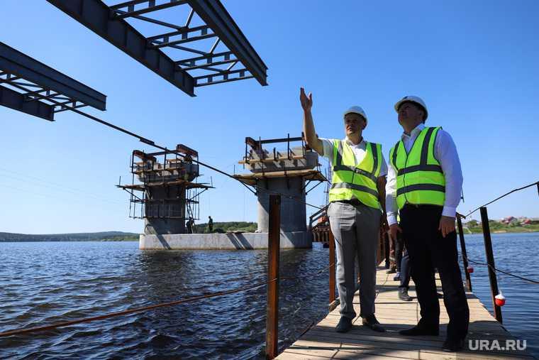 мост через пруд Нижний Тагил кто строит
