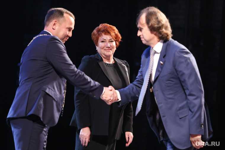 Торжественная церемония инаугурации губернатора Вадима Шумкова. Курган