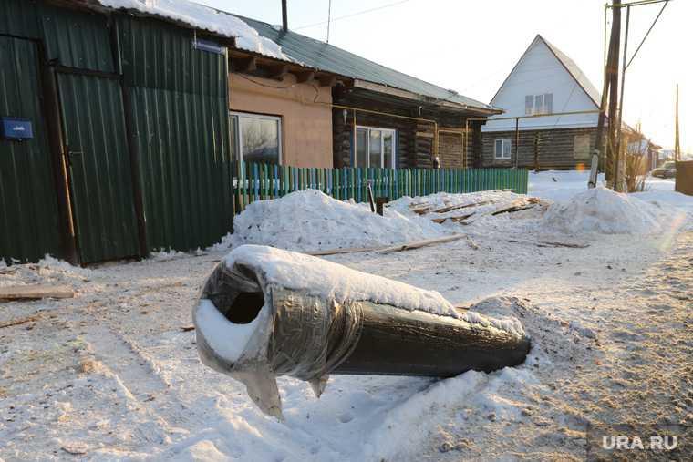Строительство канализационных сетей. Курган