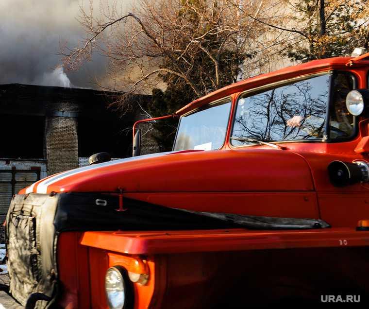 Челябинская область Копейск пожар деревянный дом
