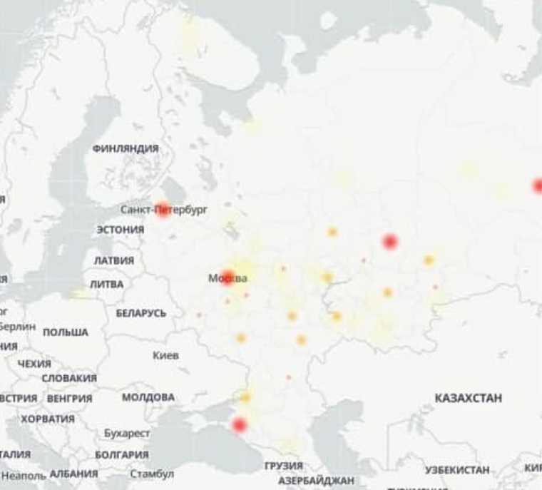 Россияне жалуются на массовый сбой в работе МТС