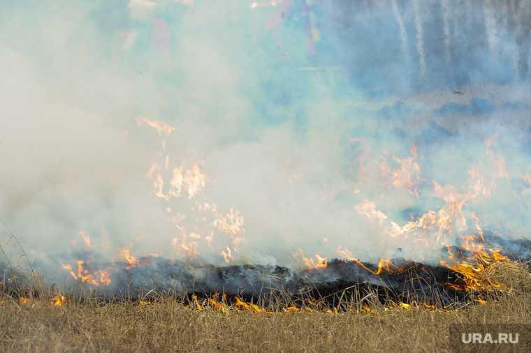 Екатеринбург пожар