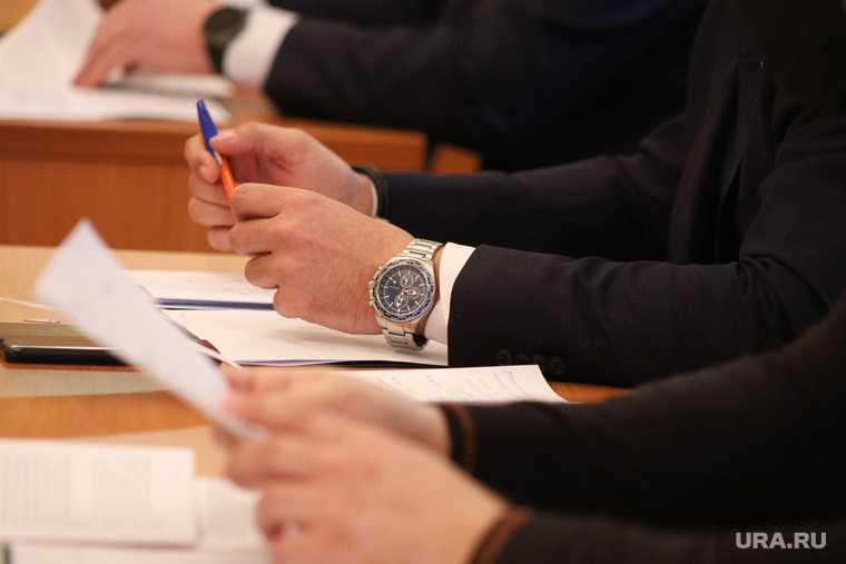 губернатор Шумков и чиновники