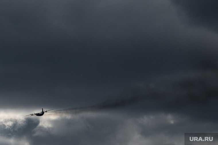 самолет разбился на территории Украины